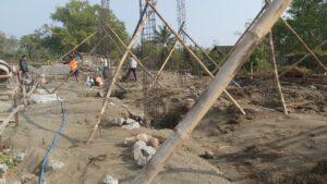 pembangunan Pondok Hamalatul Quran Pondasi, baitulmal nur ramadhan